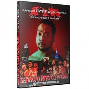 アメリカ直輸入盤プロレスDVD AIW DVD「Sekimoto Takes Cleveland」(2019年7月25日オハイオ州レイクウッド)関本大介(大日本プロレス)参戦|freebirds