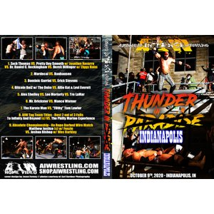AIW DVD「Thunder In Indianapolis」(2020年10月9日インディアナポリス『ザ・コレクティブ』 )米直輸入盤|freebirds