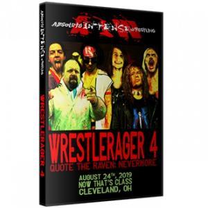 AIW DVD「WrestleRager 4」(2019年8月24日オハイオ州クリーブランド)《アメリカ直輸入盤プロレスDVD》|freebirds