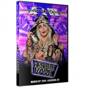 AIW DVD「WrestleRave」(2019年3月28日オハイオ州レイクウッド)アメリカ直輸入盤DVD|freebirds