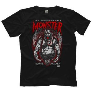 AEW Tシャツ「AEW ランス・アーチャー LANCE ARCHER Immortal Monster Tシャツ」AEWアメリカ直輸入アメリカンプロレスTシャツ freebirds