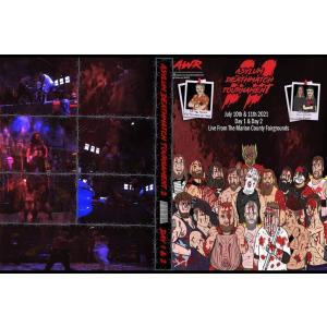 AWR DVD「Asylum Deathmatch Tournament 2 デスマッチトーナメント Night1&2(2大会収録 )」(2021年7月10日&11日インディアナ州)米直輸入盤|freebirds