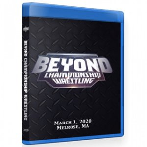 Beyond Wrestling ブルーレイ「Beyond Championship Wrestling」(2020年3月1日マサチューセッツ州メルローズ)アメリカ直輸入盤《日本盤未発売》|freebirds