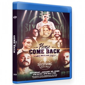 Beyond Wrestling ブルーレイ「Please Come Back 2020」(2020年1月25日マサチューセッツ州フォックスボロー)アメリカ直輸入盤《日本盤未発売》|freebirds