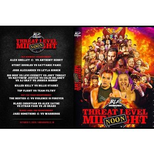 Black Label Pro DVD「Threat Level Noon」(2020年10月11日インディアナポリス『ザ・コレクティブ』 )米直輸入盤|freebirds