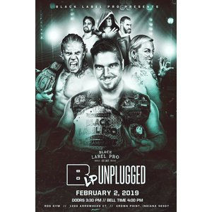 Black Label Pro DVD「Unplugged」(2019年2月2日インディアナ州クラウンポイント)アメリカ直輸入盤《日本盤未発売》|freebirds