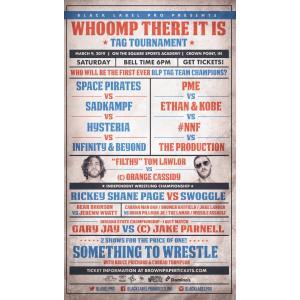 Black Label Pro DVD「Whoomp!There It Is」(2019年3月9日インディアナ州クラウンポイント)アメリカ直輸入盤《日本盤未発売》|freebirds