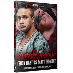 B.R.A.W.L.(Bloody Rage American Wrestling League)  DVD「Repercussions」(2019年2月1日ニュージャージー)アメリカ直輸入盤DVD《日本盤未発売》 freebirds