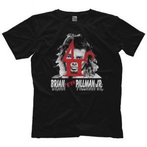 ブライアン・ピルマンJr. Tシャツ「BRIAN PILLMAN JR. Brian F'N Pillman Jr. Tシャツ」  米直輸入プロレスTシャツ freebirds