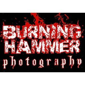 バーニング・ハンマー・フォトグラフィー「BURNING HAMMER PHOTOGRAPHY ロゴ 布パッチ」アメリカ直輸入品 freebirds