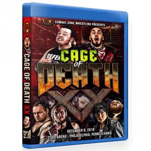 CZW ブルーレイ「Cage Of Death XX」(2018年12月9日ペンシルバニア州フィラデルフィア) 【大仁田厚 参戦】アメリカ直輸入盤《日本盤未発売》|freebirds