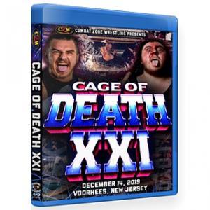 CZW ブルーレイ「Cage Of Death XXI」(2019年12月14日ニュージャージー州ヴアヒーズ)米直輸入盤《日本盤未発売》|freebirds