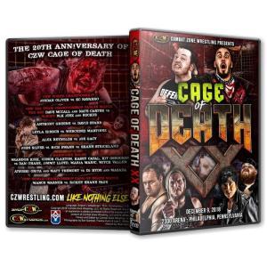 大仁田厚 参戦!CZW DVD「Cage Of Death XX」(2018年12月9日ペンシルバニア州フィラデルフィア 旧ECWアリーナ)アメリカ直輸入盤《日本盤未発売》|freebirds