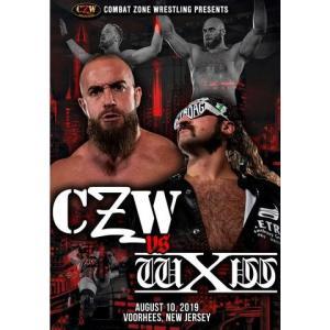CZW DVD「CZW vs. wXw」(2019年8月10日ニュージャージー州ヴアヒーズ)アメリカ直輸入プロレスDVD