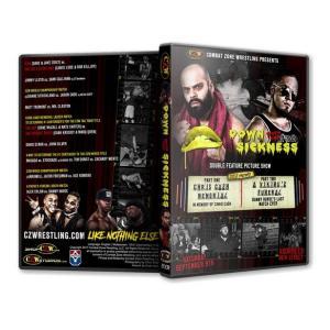 《現品特価》CZW DVD「Down With The Sickness 2017」(2017年9月9日ニュージャージー)【ダニー・ハボック引退試合:ダニー・ハボック対アレックス・コロン】|freebirds
