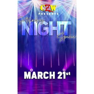 CZW DVD「Saturday Night Special サタデー・ナイト・スペシャル(無観客試合)」(2020年3月21日メリーランド州ボルチモア)アメリカ直輸入プロレスDVD|freebirds