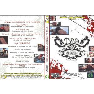 CZW DVD「Tournament Of Death:Fast Forward」(2007年9月15日デラウェア州スマーナ) freebirds
