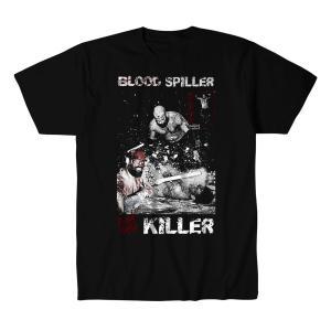 アレックス・コロン Tシャツ「ALEX COLON Blood Spiller Deathmatch Killer Tシャツ Imported from DeathMatch WorldWide」 米直輸入プロレスTシャツ freebirds
