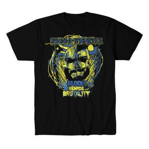 アレックス・コロン Tシャツ「ALEX COLON Blood、Beards And Brutality Tシャツ Imported from DeathMatch WorldWide」 米直輸入プロレスTシャツ freebirds
