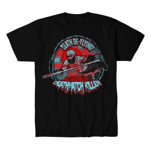 アレックス・コロン Tシャツ「ALEX COLON Death De-Flying Tシャツ Imported from DeathMatch WorldWide」 米直輸入プロレスTシャツ freebirds