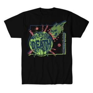 アレックス・コロン Tシャツ「ALEX COLON Planet Death Tシャツ Imported from DeathMatch WorldWide」 米直輸入プロレスTシャツ freebirds