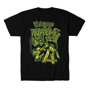 アレックス・コロン Tシャツ「ALEX COLON Welcome To Primetime, Bitch! Tシャツ Imported from DeathMatch WorldWide」 米直輸入プロレスTシャツ freebirds