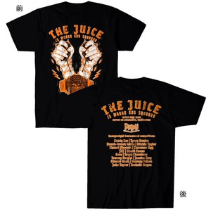 DMDU Tシャツ「デスマッチ・ダウンアンダー The Juice Is Worth The Squeeze Tシャツ(バックプリントあり)Imported from D.M.W.W.」 freebirds