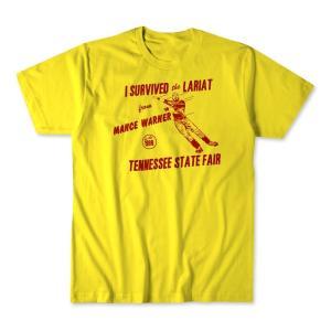 マンス・ワーナー Tシャツ「MANCE WARNER Tennessee State Fair Tシャツ Imported from DeathMatch WorldWide」米直輸入プロレスTシャツ|freebirds