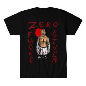 ニール・ダイアモンド・カッター Tシャツ「NEIL DIAMOND CUTTER Zero Fucks Tシャツ Imported from D.M.W.W.」 米直輸入デスマッチTシャツ《日本未発売品》 freebirds