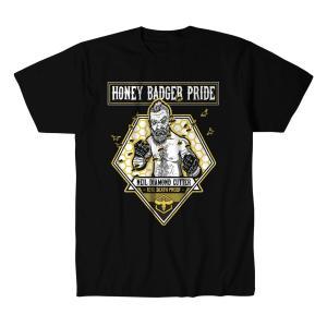 ニール・ダイアモンド・カッター Tシャツ「NEIL DIAMOND CUTTER Honey Badger Pride Tシャツ Imported from D.M.W.W.」 米直輸入デスマッチTシャツ freebirds
