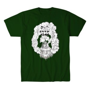 サツー・ジン Tシャツ「SATU JINN Smokin Tシャツ Imported from D.M.W.W.」 米直輸入デスマッチTシャツ freebirds
