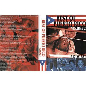「Best of Puerto Rico Vol.2(6枚組)」 【ベスト・オブ・プエルトリコDVD】|freebirds