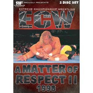ECW 輸入盤DVD「A Matter Of Respect 2 ア・マター・オブ・リスペクト2」(1998年5月16日フィラデルフィア ECWアリーナ)|freebirds
