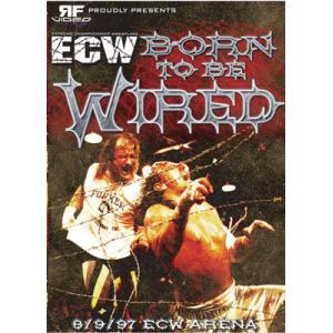 ECW 輸入盤DVD「Born To Be Wired 1997」(1997年8月9日ECWアリーナ)テリー・ファンク対サブー ノーロープ有刺鉄線デスマッチ|freebirds