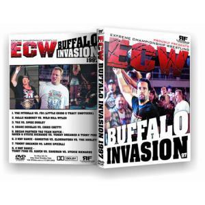 ECW 輸入盤DVD「Buffalo Invasion バッファロ・インヴェイジョン 1997」(1997年5月17日ニューヨーク州バッファロ)|freebirds