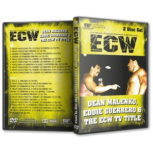 ECW 輸入盤DVD「ディーン・マレンコとエディ・ゲレロ ECW TV王座を巡っての戦い Dean Malenko, Eddie Guerrero And The ECW TV Title(2枚組)」|freebirds