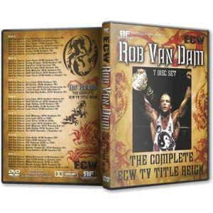 ECW DVD「Rob Van Dam:The Complete ECW TV Title」(7枚組)|freebirds