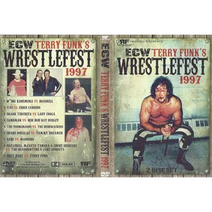 ECW 輸入盤DVD「Terry Funk's WrestleFest 1997 : 50 Years Of Funk テリー・ファンク・レッスルフェスト(二枚組)」(1997年9月11日テキサス州アマリロ)|freebirds