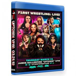 F1RST Wrestling ブルーレイ「Uptown VFW 5」(2019年3月21日ミネソタ州ミネアポリス)アメリカ直輸入盤《日本盤未発売》|freebirds