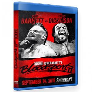 GCW ブルーレイ「Josh Barnett's Bloodsport 2 〜血闘第二章〜」(2019年9月14日アトランティックシティ)【ミノワマン参戦】米直輸入盤《日本盤未発売》