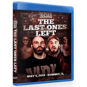 GCW ブルーレイ「The Last Ones Left」(2019年5月4日イリノイ州サミット)米直輸入盤《日本盤未発売》