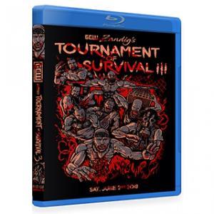 GCW ブルーレイ「Zandig's Tournament Of Survival 3 デスマッチトーナメント」(2018年6月2日ニュージャージー州セアビル)【大日本プロレス 植木崇行 参戦】