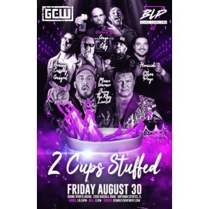 GCW&Black Label Pro DVD「2 Cups Stuffed」(2019年8月30日イリノイ州ホフマンエステイツ)米直輸入盤《日本盤未発売》|freebirds