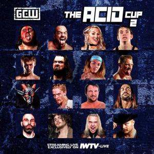 《現品特価》GCW DVD「The Acid Cup 2 Night1 無観客16人参加シングルトーナメント(一回戦)」(2020年3月19日ペンシルバニア州フィラデルフィア)米直輸入盤 freebirds