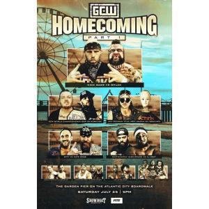 《現品特価》GCW DVD「Homecoming Part1 ホームカミング パート1《ジョーイ・ジャネラ対ヨシヒコ》(2枚組)」(2020年7月25日アトランティックシティ) freebirds