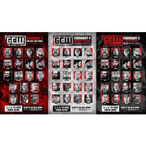 【GCW日本大会2020 DVD3巻セット】GCW DVD「Live Fast, Die Young」、「Ready To Die」&「The Art Of War」(2020年2月3日、4&5日新木場)米直輸入盤|freebirds