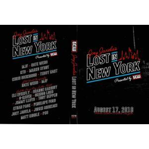 GCW DVD「Joey Janela's Lost In New York」(2018年8月17日ニューヨーク州クイーンズ)【マット・リドル 対 PCO】