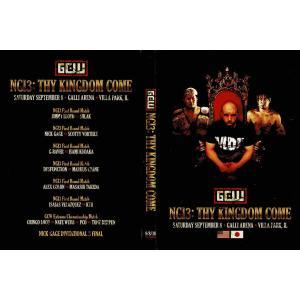 【初回入荷分完売につき、ただいま再入荷分ご注文受付中】GCW DVD「Nick Gage Invitational 3 デスマッチトーナメント」(2018年9月8日)