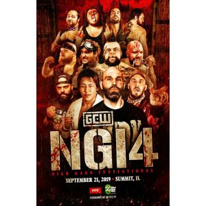 GCW DVD「Nick Gage Invitational 4 デスマッチトーナメント 」(2019年9月21日イリノイ州サミット)米直輸入盤《日本盤未発売》
