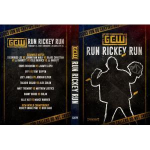 《現品特価》GCW DVD「Run Rickey Run ラン・リッキー・ラン(2枚組)」(2020年2月15日ニュージャージー州アトランティックシティ)米直輸入盤|freebirds